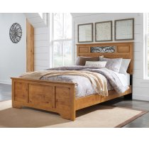 Bittersweet - Light Brown 3 Piece Bed Set (Queen) Product Image