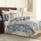 9pc Queen Comforter Set Cadet Product Image