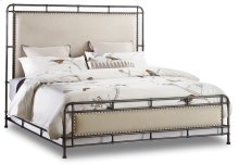 Bedroom Studio 7H Slumbr Queen Metal Upholstered Bed
