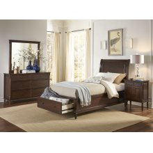 Avignon Birch Cherry Twin Panel Headboard