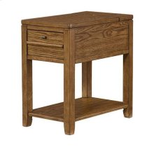 Chairsides Downtown Chairside Table - Oak