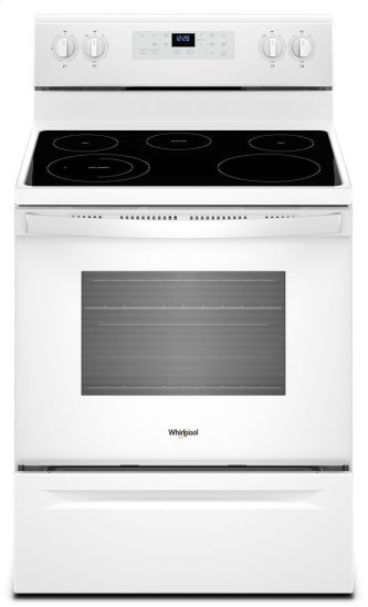 5.3 cu. ft. WhirlpoolA ™ electric range with Frozen Bake technology