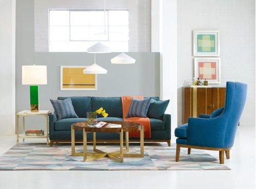 Living Room Side Stripe End Table