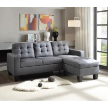 SECTIONAL SOFA W/OTTOMAN