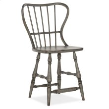 Dining Room Ciao Bella Spindle Back Counter Stool-Speckled Gray