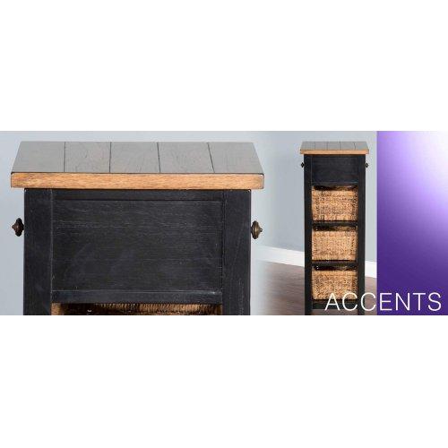 Storage Rack w/ Baskets