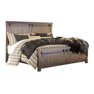 Ashley Furniture Lakeleigh - Brown 3 Piece Bed Set (Cal King)