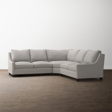 Designer Comfort Exeter Small L-Shaped Sectional