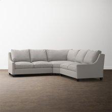Designer Comfort Exeter Custom Sectional