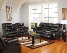 Linebacker - Black 4 Piece Living Room Set
