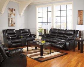 Linebacker - Black 4 Piece Living Room Set