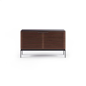 Sv 7128 Dual Credenza Media Console in Chocolate Stained Walnut -