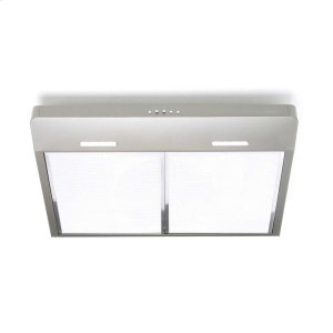 BroanCorteo 30-Inch 300 CFM Slate Range Hood with LED light
