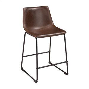 AshleySIGNATURE DESIGN BY ASHLEYCentiar - Two-tone Brown Set Of 2 Dining Room Barstools