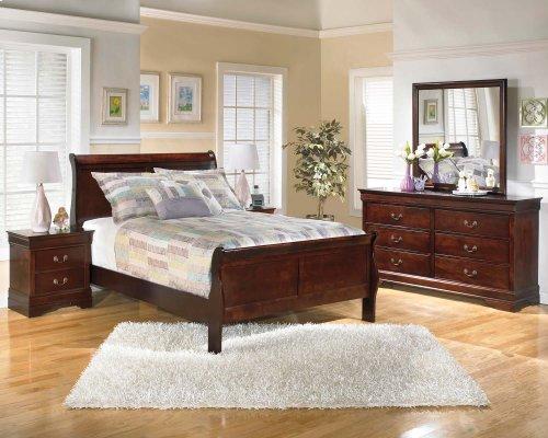 Alisdair - Dark Brown 2 Piece Bedroom Set