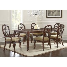 "Cassandra Table with 18"" Leaf (Table Only - Chairs Not Available)"