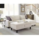 Montgomery Transitional Cream Sectional Product Image