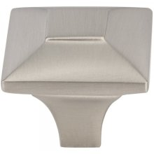 Alston Knob 1 3/16 Inch Brushed Satin Nickel