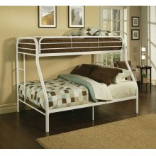 TRITAN WHITE T/F BUNK BED