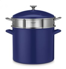 20 Quart Stockpot with Steamer Insert and Cover