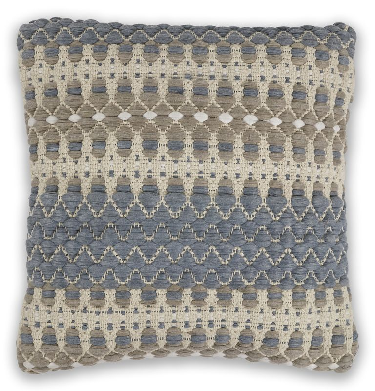 "Pillow L334 Blue/beige Laguna 18"" X 18"""