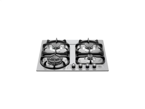 24 Cooktop 4-burner Stainless