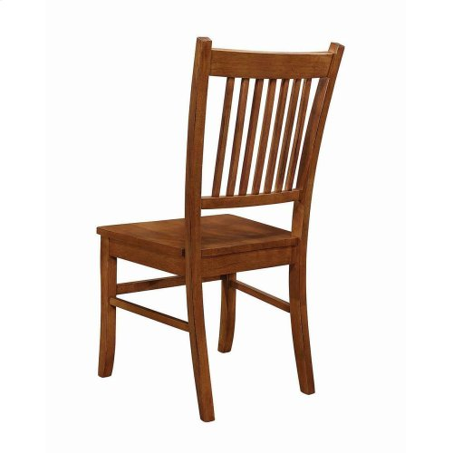 Marbrisa Mission Burnished Oak Side Chair