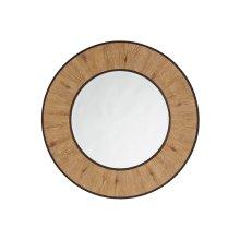 Carins Round Mirror