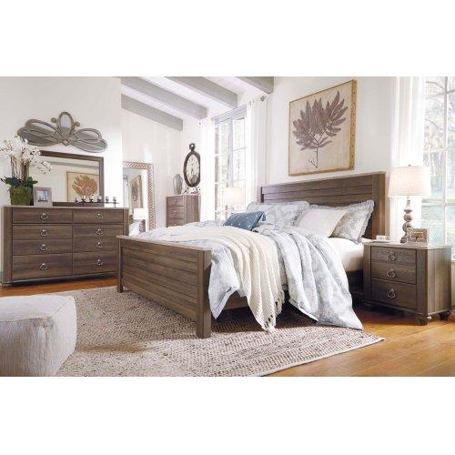 Birmington - Brown 2 Piece Bedroom Set
