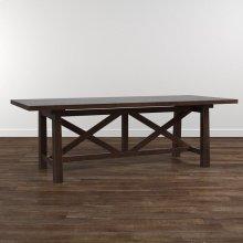 "Bench*Made Oak 108"" Artisan Table"