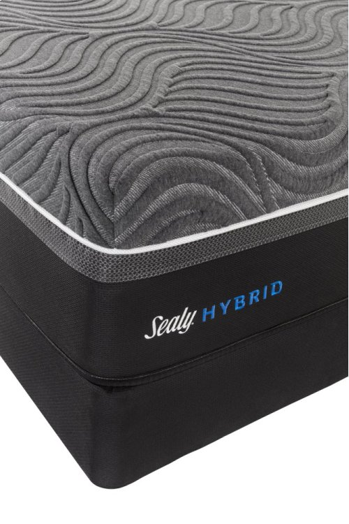 Hybrid - Premium - Silver Chill - Firm - Mattress and Ease 2.0 Foundation