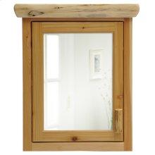 Cedar Medicine Cabinet - Medium - Hinged Left