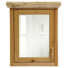 Cedar Medicine Cabinet - Large - Hinged Right