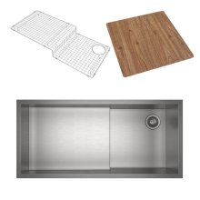 Culinario 2-In-1 Ultimate Water Appliance Stainless Steel Sink With Cutting Board