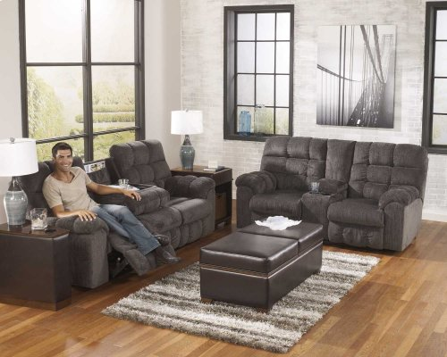 REC Sofa w/Drop Down Table