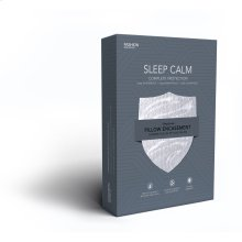 Sleep Calm Pillow Encasement with Stain and Dust Mite Defense, King / California King