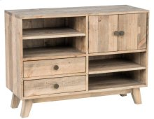 Sorrento 2Dwr 2Dr Low Bookcase