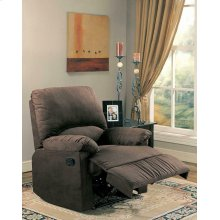 Casual Chocolate Motion Recliner