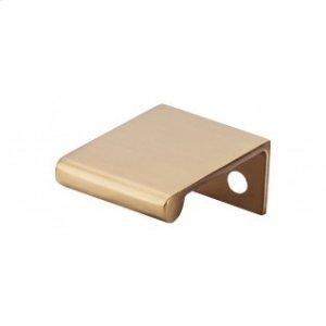 Europa Tab Pull 1 1/4 Inch - Honey Bronze