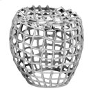 Birdcage Stool Silver Product Image