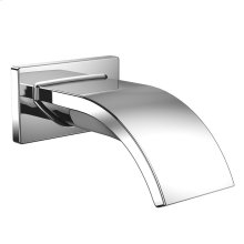 Aimes® Wall Spout - Polished Chrome Finish
