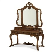 Vanity Desk Drawer Unit & Mirror Product Image