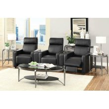 Toohey Home Theater Black Console