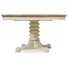 Dining Room Sunset Point Pedestal Dining Table with One 18'' Leaf