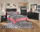 Maribel - Black 8 Piece Bedroom Set Product Image