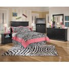 Maribel - Black 8 Piece Bedroom Set Product Image