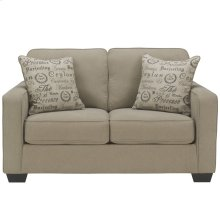 Signature Design by Ashley Alenya Loveseat in Quartz Microfiber