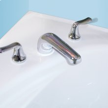 Colony Soft Deck-Mount Bathtub Faucet Trim Kit - Polished Chrome
