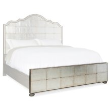 Bedroom Arabella 5/0 Mirrored Panel Footboard