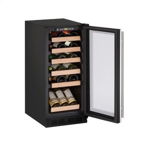 "U-Line15"" Wine Refrigerator With Stainless Frame Finish (115 V/60 Hz Volts /60 Hz Hz)"